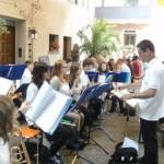 Vortrag des Jugendorchesters