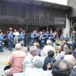 Musik aus Dudelsäcken von den Celtic Ried's Pipers aus Habsheim/Elsass