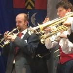 Gemeinsamer Auftritt der Corpo Bandistico della Valle die Ledro und der Stadtmusik Müllheim
