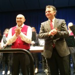 Die beiden Dirigenten Marco Isacchini und Franco Coali