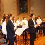Das Jugendorchester erhält wohlverdienten großen Applaus