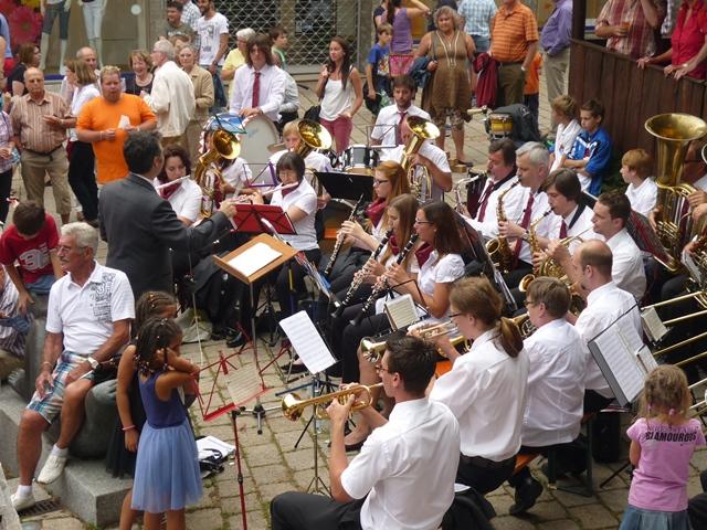 Eröffnung des 43. Müllheimer Stadtfestes