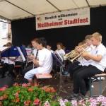 Vororchester am Müllheimer Stadtfest 2014