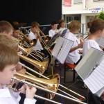 Die Jugend spielt am Müllheimer Stadtfest 2014