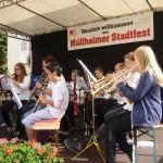 Jugendkapelle am Müllheimer Stadtfest 2014