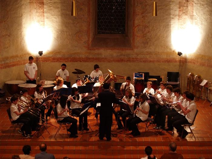 Musiker der Jugendkapelle
