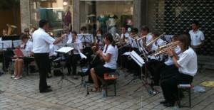 Platzkonzert auf dem Stadtfest 2012